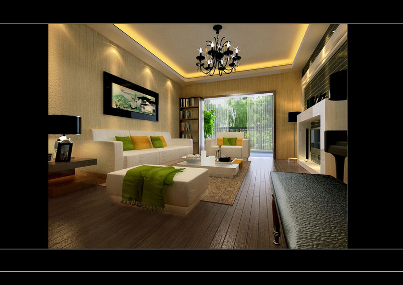 室内空间设计效果图
